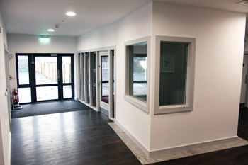 Ennistymon Digital Hub reception area